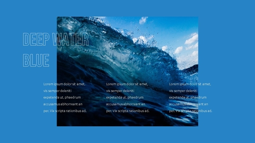 블루 스펙트럼 (Blue Spectrum) PPT 16:9 - 섬네일 23page