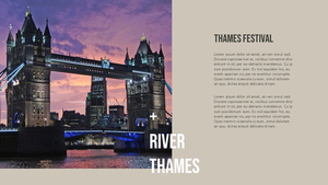 Thames Festival (템즈 페스티벌) PPT 16:9