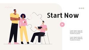 Collaboration Business Service 피치덱 PPT #13