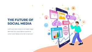 소셜미디어 모바일 컨셉 (Social Media on Mobile) 템플릿 #25