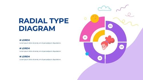 소셜미디어 모바일 컨셉 (Social Media on Mobile) 템플릿 - 섬네일 47page