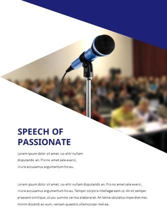 스피치 (Splendid Speech) 세로형 파워포인트 - 섬네일 2page