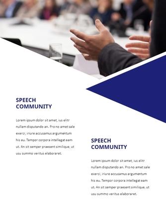 스피치 (Splendid Speech) 세로형 파워포인트 - 섬네일 3page