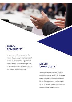 스피치 (Splendid Speech) 세로형 파워포인트