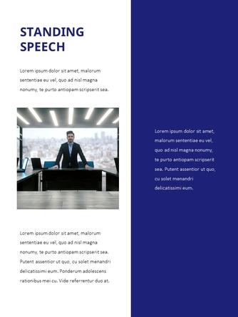 스피치 (Splendid Speech) 세로형 파워포인트 - 섬네일 9page