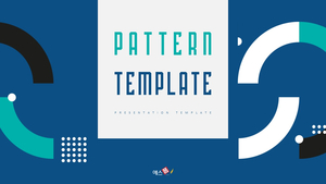 패턴 이미지 (Pattern) PPT 표지