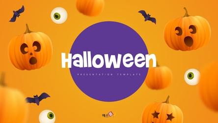 할로윈데이 (Halloween) 배경 PPT thumbnail