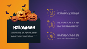 할로윈데이 (Halloween) 배경 PPT