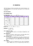 연구개발 계약서(샘플양식)