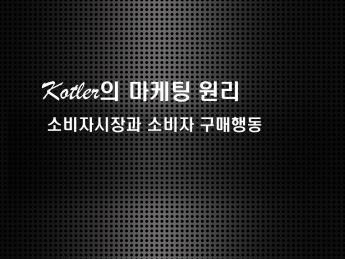 Kotler의 마케팅 원리(소비자 시장과 소비자 구매행동) 레포트