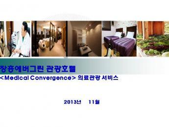 의료관광 호텔 사업계획서