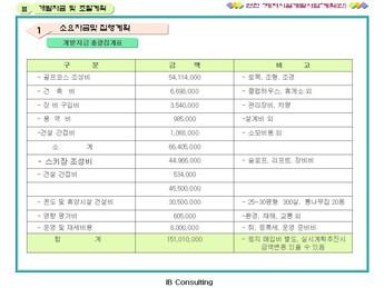 경기도연천 레저시설 개발 사업계획서 #23