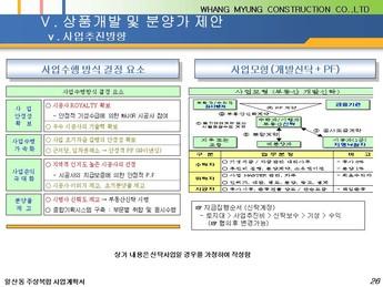 경기도 고양시 일산동 주상복합 건축분양사업계획서 #26