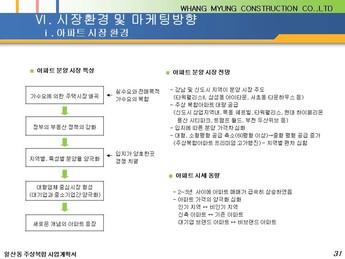 경기도 고양시 일산동 주상복합 건축분양사업계획서 #31