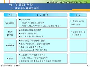 경기도 고양시 일산동 주상복합 건축분양사업계획서 #41