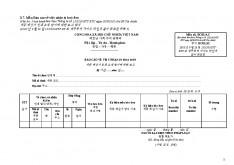 베트남 각종 세금계산서양식 리스트 page 9