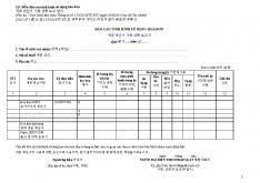 베트남 각종 세금계산서양식 리스트 #11