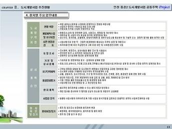 인천시 연수구동춘동 공동주택개발 사업계획서 #13