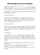 (영문) 웹개발 계약서(Web Development Contractual Agreement)