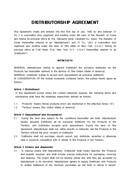 (영문) 판매점계약서(DISTRIBUTORSHIP AGREEMENT 대한상사중재원)